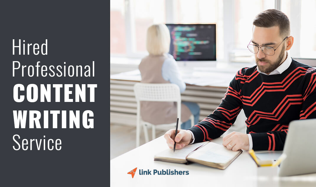 Hired Professional Content Writing Service