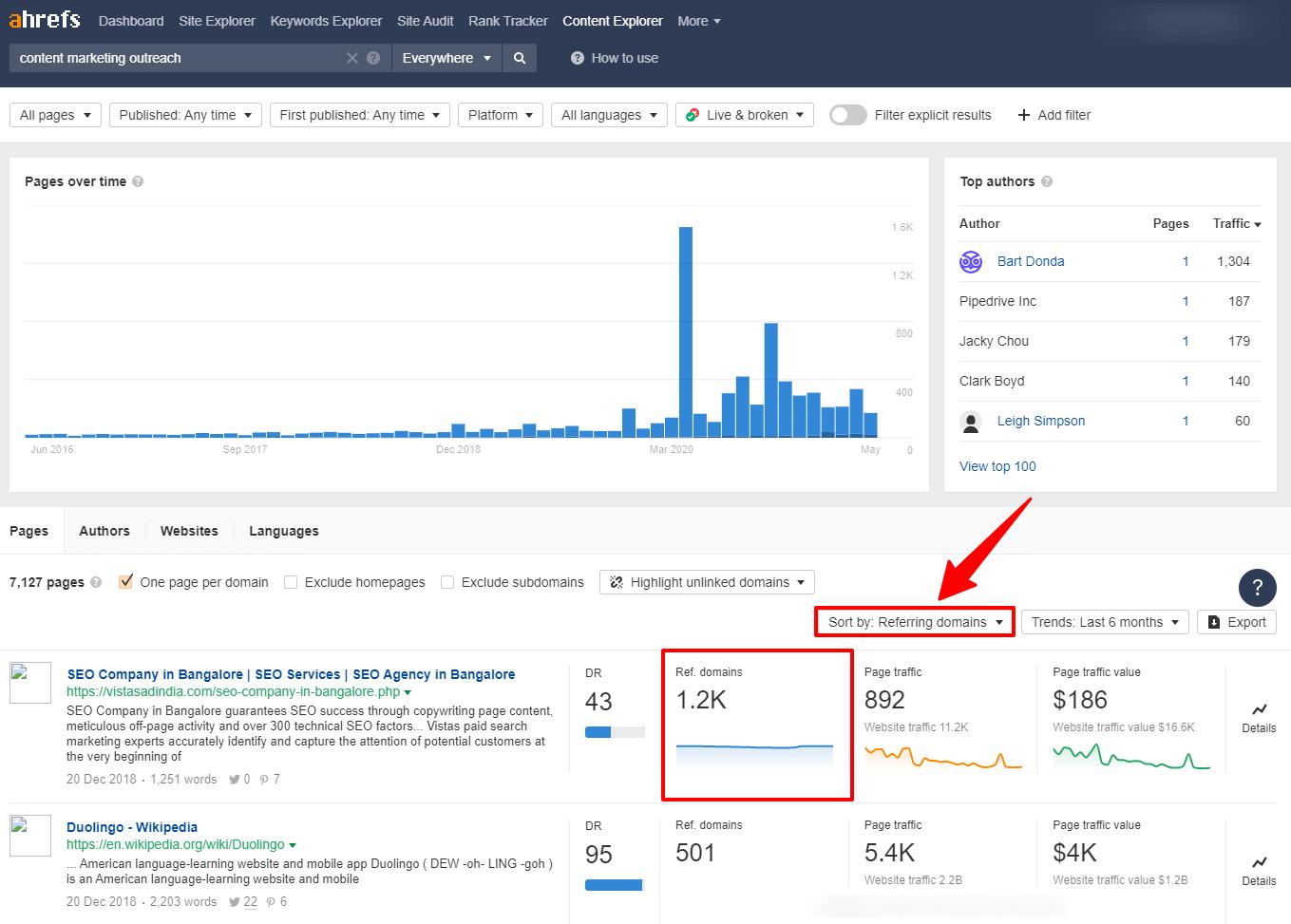 content Explorer Tool